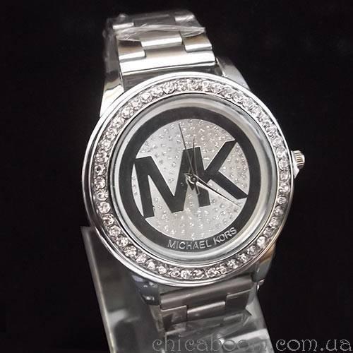 Часы Michael Kors серебристого цвета