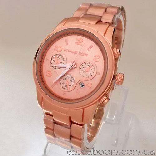 Часы Michael Kors (цвет розовое золото)