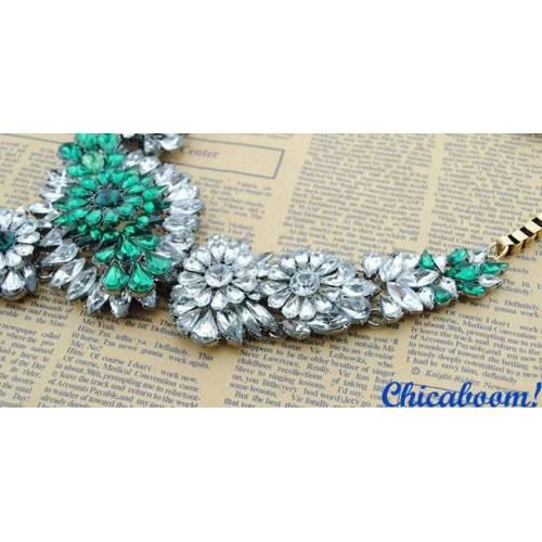 Ожерелье Shourouk Изумрудный рассвет