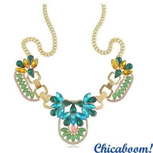 Ожерелье Цветочный кристалл