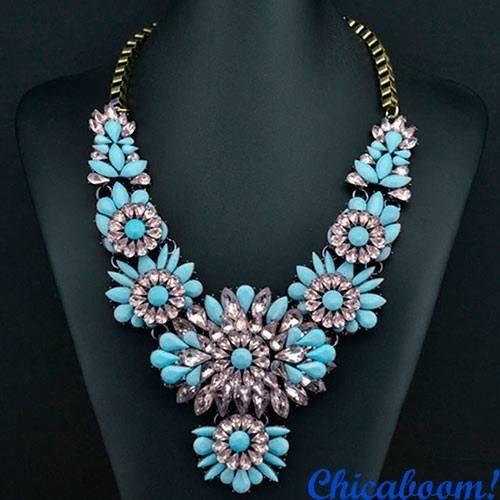 Ожерелье Shourouk Небо