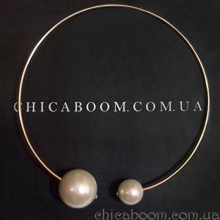 Ожерелье Две жемчужины