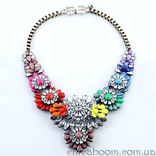 Ожерелье Shourouk цветочное