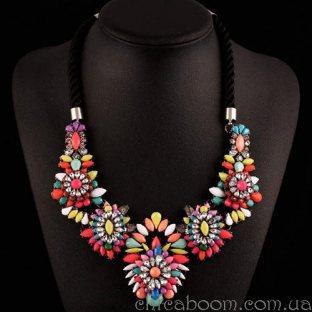 Ожерелье Shourouk (мультиколор)