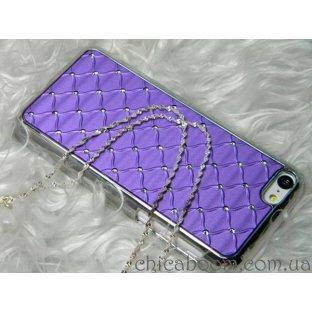 Чехол для iPhone 5/5c фиолетового цвета