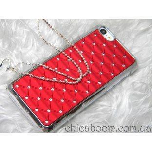 Чехол для iPhone 5/5c красного цвета