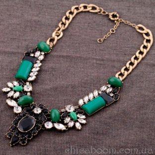 Ожерелье Феерия зелени