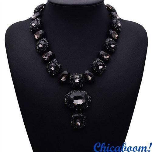 Ожерелье Angie чёрного цвета