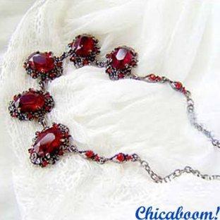 Ожерелье Рубин