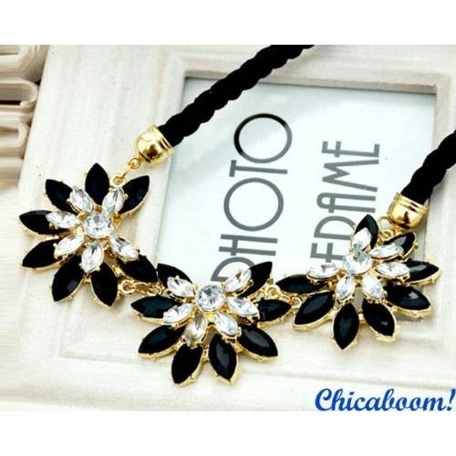 Ожерелье Кристальный цветок