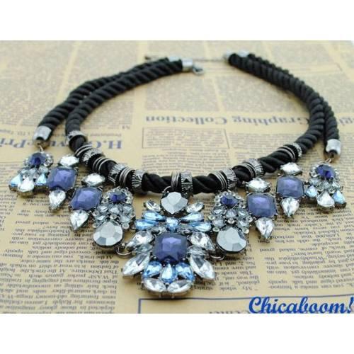 Ожерелье Shourouk с кристаллами