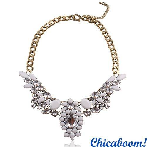 Ожерелье J. Crew кристальное