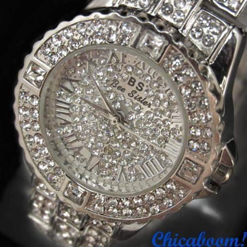 Дешевые китайские часы со стразами купить онлайн
