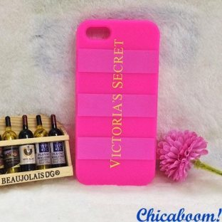 Чехол для iPhone 5/5S Victoria's Secret pink