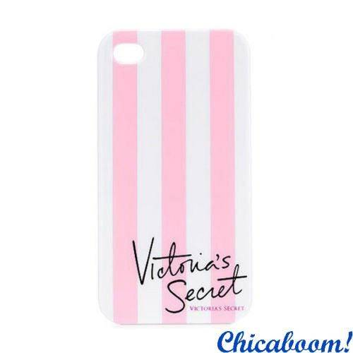 Чехол для iPhone 5/5S Victoria's Secret pink-white
