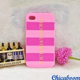 Чехол для iPhone 5/5S Victoria's Secret pink №2