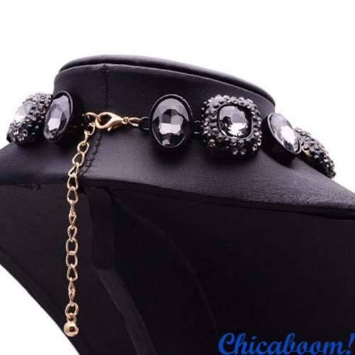 Ожерелье Angie серого цвета №2