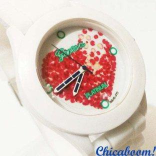 Часы Geneva с силиконовым ремешком (hart)