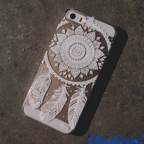 Чехол для iPhone 5/5С Ажур №3