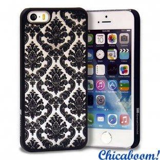 Чехол для iPhone 5/5С Vintage (чёрный)