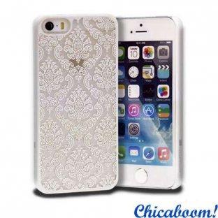 Чехол для iPhone 5/5С Vintage (белый)