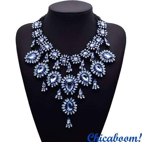 Ожерелье Grace в синих тонах