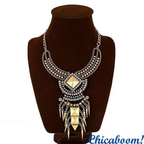 Ожерелье Клеопатра (золотой цвет)