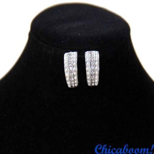 Набор Elegant pearl (колье и серьги)