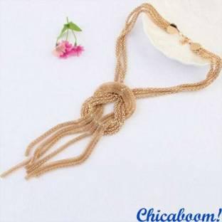 Ожерелье Золотой узел