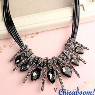 Ожерелье Glory серого цвета