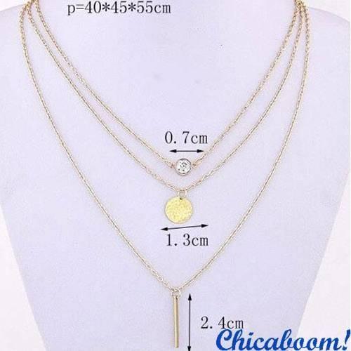 Ожерелье-цепочка Stick