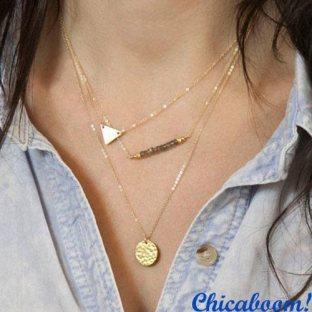 Ожерелье-цепочка Triangle