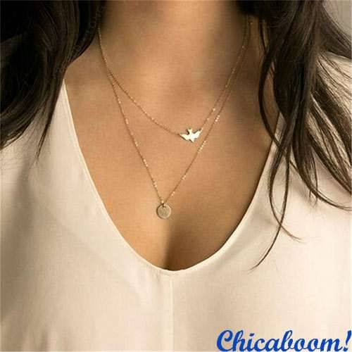 Ожерелье-цепочка Bird+Ring