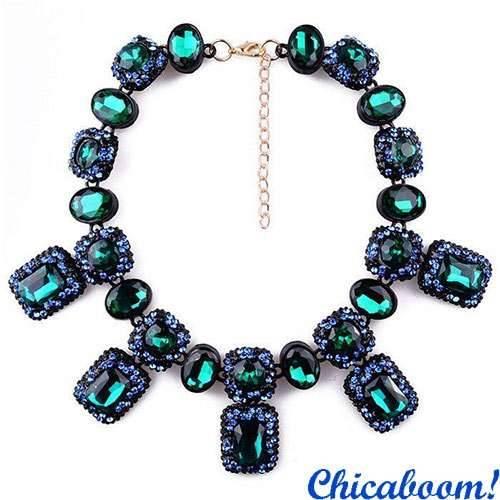 Ожерелье Angie зелёного цвета №2