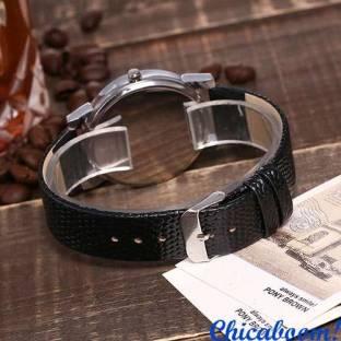Часы Vansvar в чёрном стиле