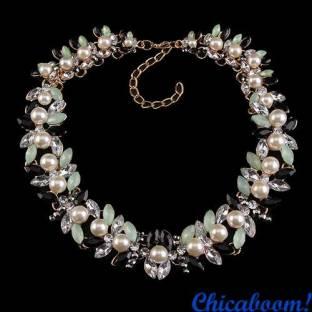 Ожерелье Вечность (чёрно-зелёный цвет)