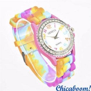 Часы Geneva Rainbow