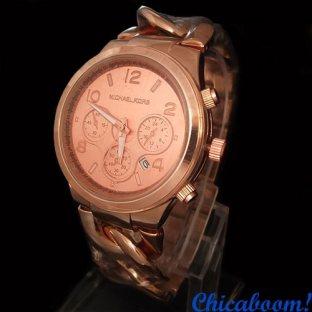 Часы Michael Kors (розовое золото)