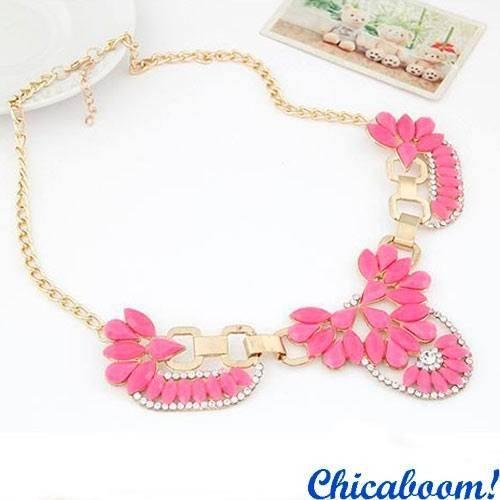 Ожерелье Элиза (розовый цвет)