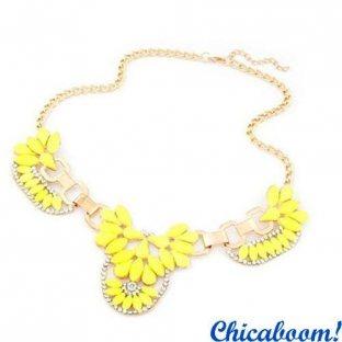 Ожерелье Элиза (жёлтый цвет)