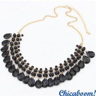Ожерелье Эмилия (чёрное)