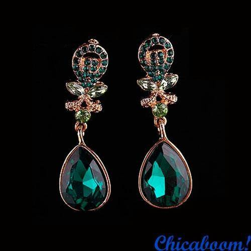Серьги Emerald