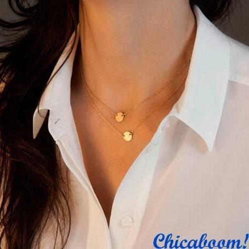 Ожерелье-цепочка Little rings
