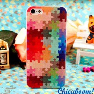 Чехол для iPhone 4 Пазл