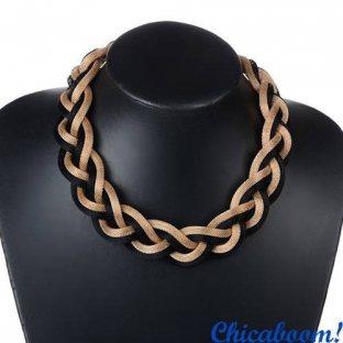Ожерелье Плетёное