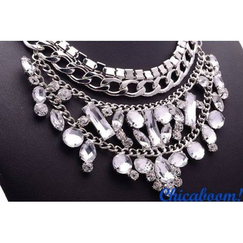 Ожерелье Серебряная прохлада