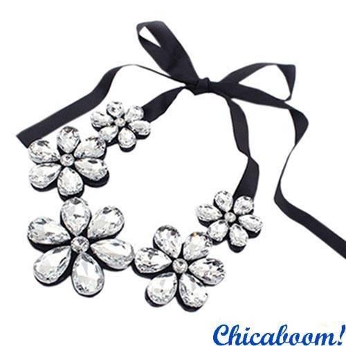 Ожерелье Ледяные цветы