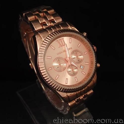 Часы Michael Kors (цвет розового золота)