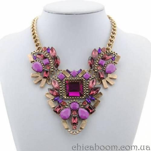 Ожерелье Фиолетовая сказка