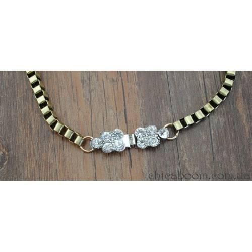 Ожерелье Shourouk цветочное №2